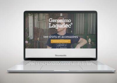 Site de vente en ligne Geronimo Lagadec