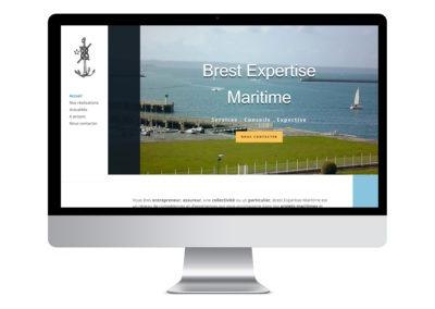 Conception d'un site vitrine pour Brest Expertise Maritime