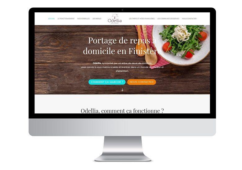 Refonte site web Odellia Quimper