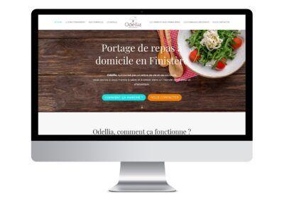 Site web de Odellia à Quimper