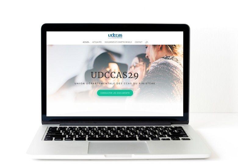UDCCAS29 réalisation internet Agence Mauve pleyben