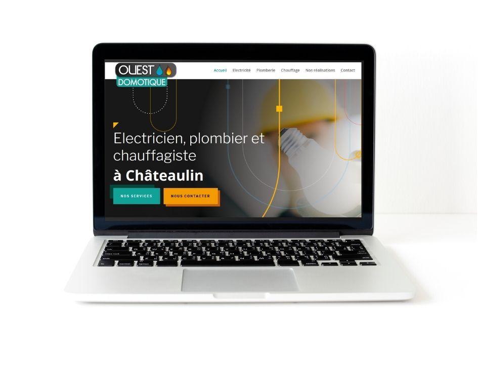 site web Ouest Domotique