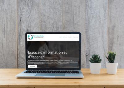 Site web de l'association Terre de réseau