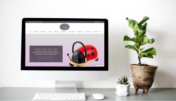 site e-commerce woocommerce jemicekids