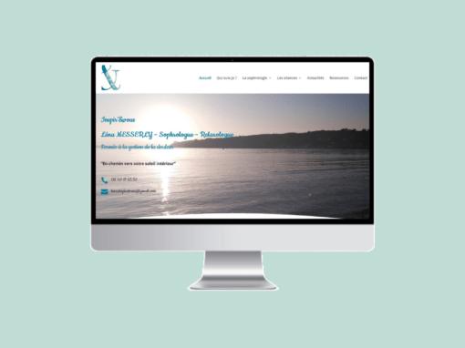 Refonte du site web de Inspir'& Vous, cabinet de sophrologie à Plougastel-Daoulas