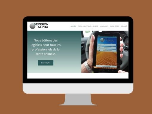 Refonte du site DECISION ALPHA à Ploufragan (22)